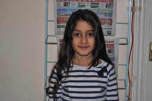 Londra Enfield bölgesinde yaşayan 8 yaşındaki Beyza Hollywood yolcusu