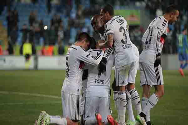 Beşiktaş 2-1 Çaykur Rizespor