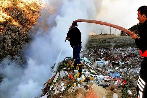 Bodrum'da çıkan yangın 1 haftadır söndürülemedi