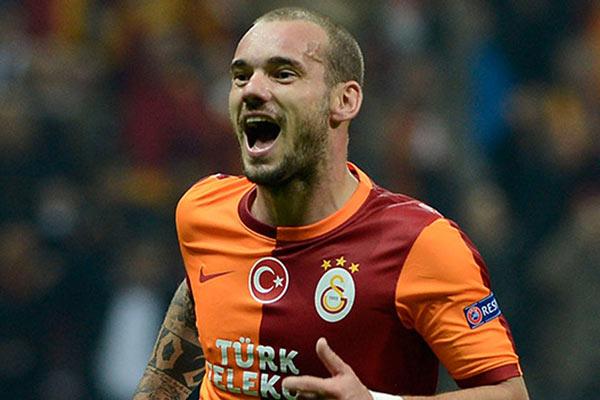 Wesley Sneijder, Fenerbahçe-Galatasaray maçında oynayacak mı