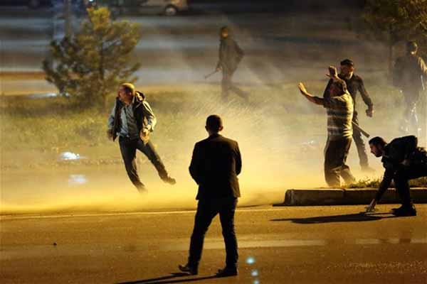 Cumhuriyet Üniversitesi'nde polis müdahalesi