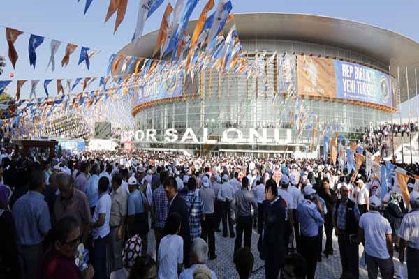 Ahmet Davutoğlu'nun kongre konuşmasının ayrıntıları
