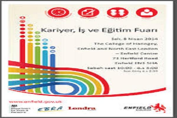 Enfield'de Türkçe konuşan toplum için iş ve kariyer günü