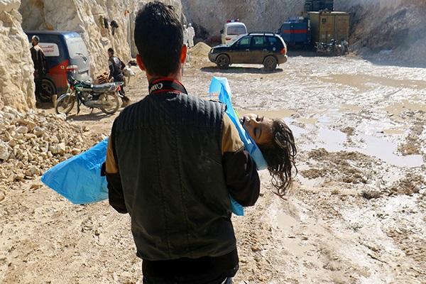 Esad rejimi İdlib'de kimyasal gaz kullanmış