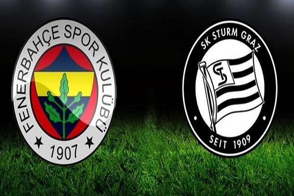 Fenerbahçe Sturm Graz maçı saat kaçta ve hangi kanalda başlayacak