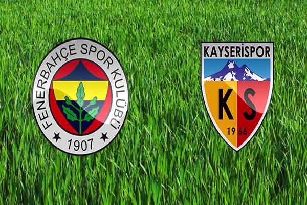 Fenerbahçe Kayserispor maçı ne zaman saat kaçta ve hangi kanalda oynanacak