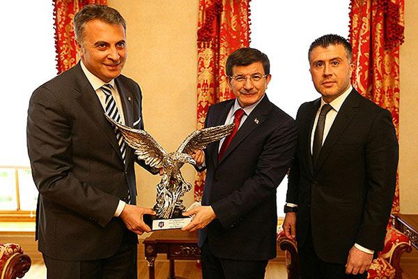 Fikret Orman, Başbakan Davutoğlu'nu ziyaret etti