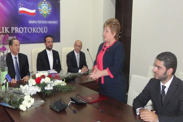 KKTC YDÜ ile Gagauzya Arasında Eğitim ve Sağlık Protokolü İmzalandı