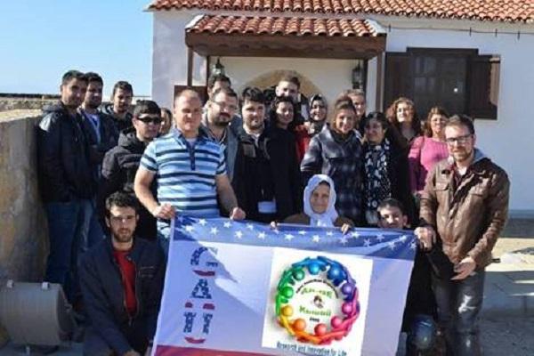 GAÜ AR-GE Kulübü Akıncılar Köyünü Fethetti