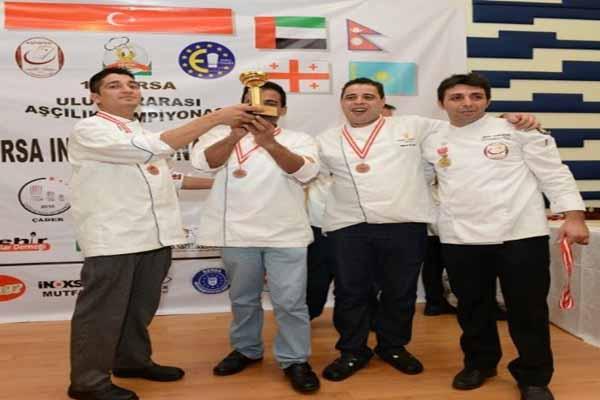 Uluslararası Gastronomi Yemek Yarışması ödülleri sahiplerini buldu
