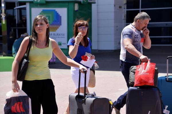 Rus turist sayısında artış