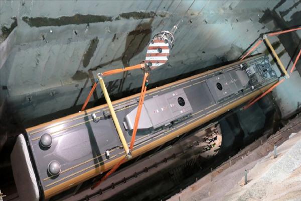 Üsküdar-Çekmeköy metrosunda vagonlar raylara indirildi