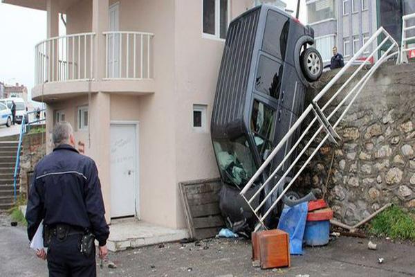 Karabük'te kaza, 2 yaralı