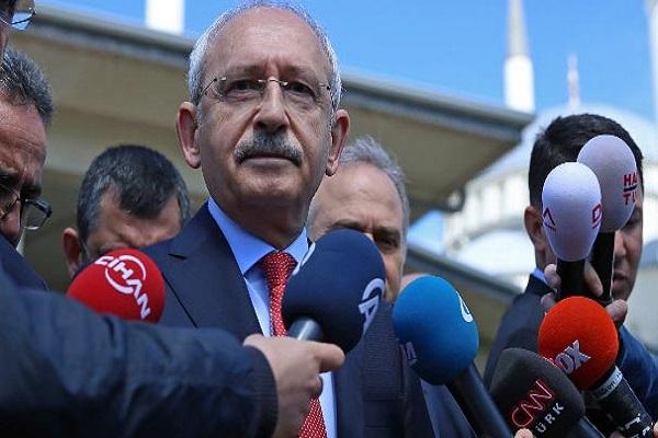 CHP lideri Kılıçdaroğlu TBMM Başkanı'nı eleştirdi