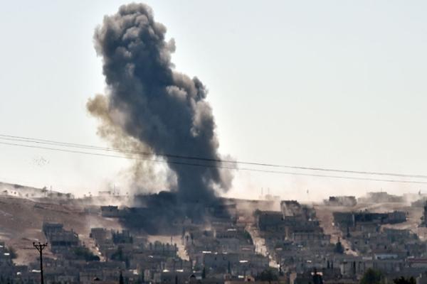 IŞİD'e ait zırhlı araç imha edildi