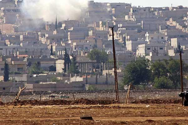 Kobani çatışmaları şiddetleniyor
