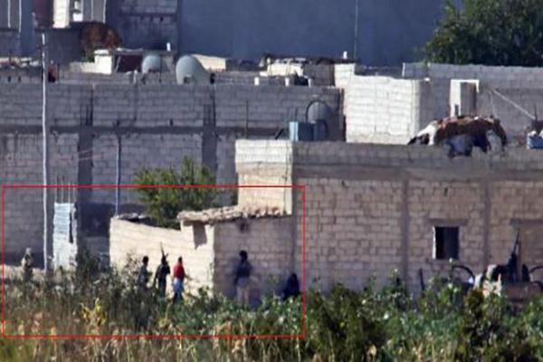 IŞİD militanları Kobani'de saklanıyor