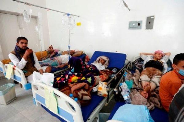 Kolera salgını Yemen'de bin 560 can aldı