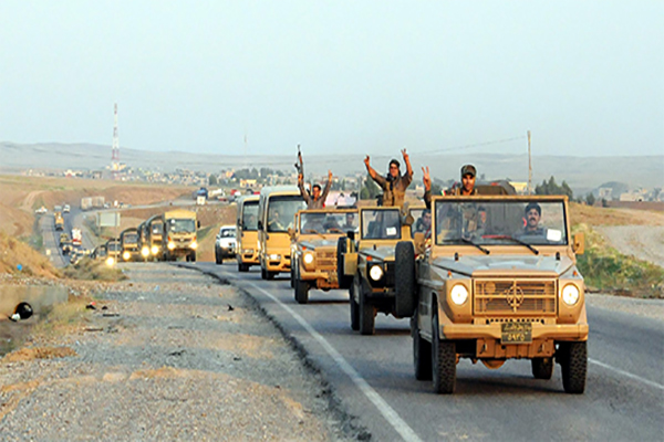 Peşmerge 80 araçla Kobani'ye gidiyor