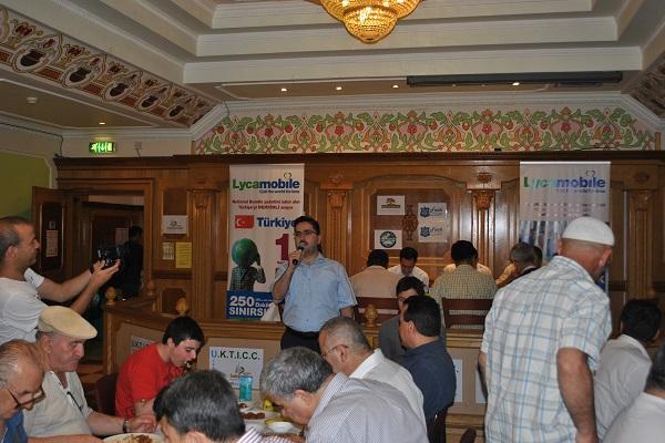 Lyca Mobile Süleymaniye Kültür Merkezinde İftar Yemeği Verdi