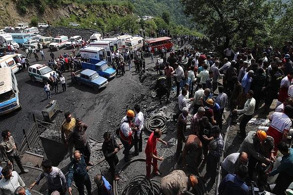 İran şokta 35 işçi maden ocağında can verdi
