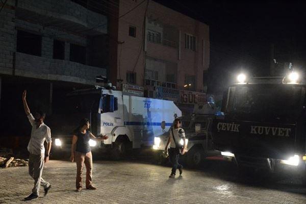 IŞİD protestosuna Mardin'de müdahale