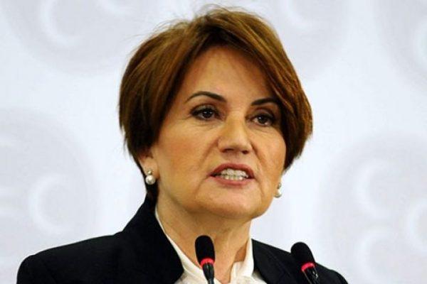 Meral Akşener'den Atatürk büstüne saldırıya ilişkin tepki