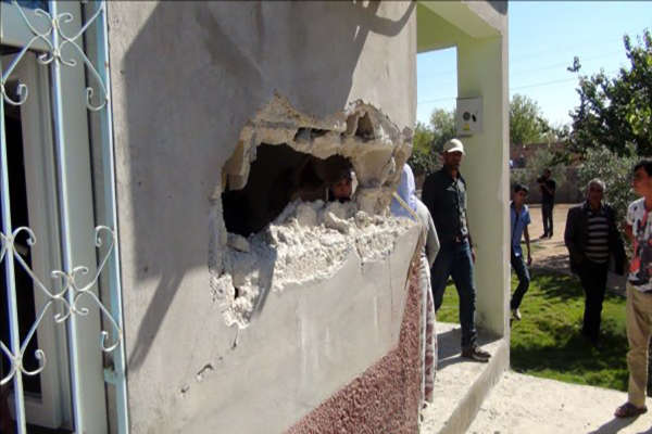 Suruç'a havan topu mermisi düştü, 4 yaralı