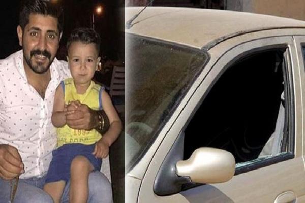 Otomobilde kalan 4 yaşındaki Murat feci şekilde can verdi