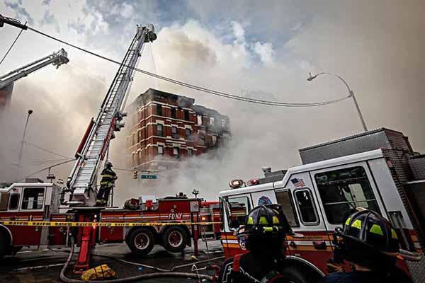 New York'ta patlama meydana geldi