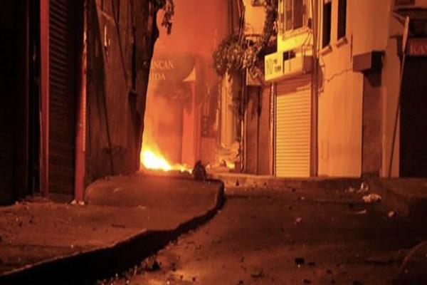 Okmeydanı'nda polis ile eylemciler arasında gerginlik