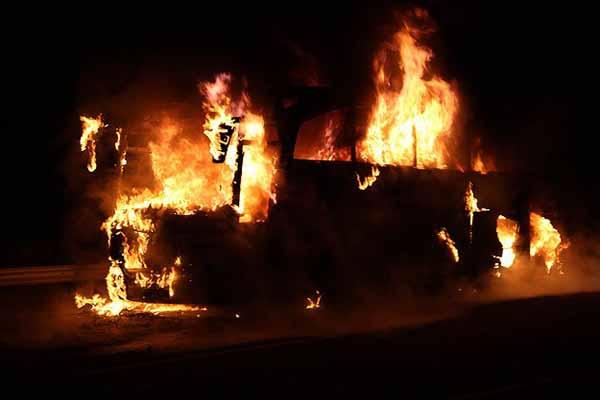 İsrail'de yangın 3 gündür yangın söndürülemiyor
