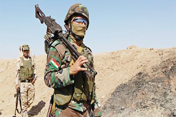 Peşmergeler tespit için Kobani'ye geçti