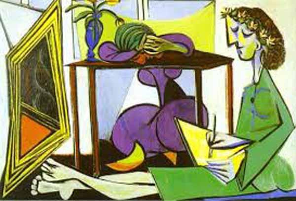Pablo Picasso'nun özportresi, ilk defa Londra'da sergiye çıkacak