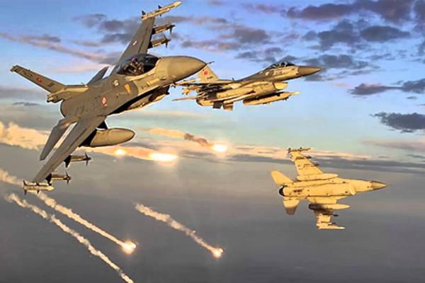 Zap bölgesi ve Çukurca'da terör hedeflerine hava harekatı