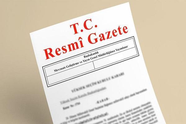 Yüksek Askeri Şura'da alınan kararlar Resmi Gazete'de