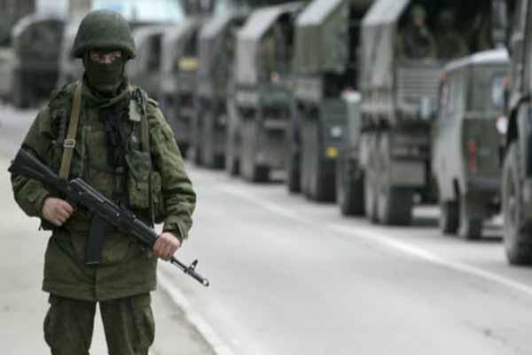 Ukrayna işgal altında