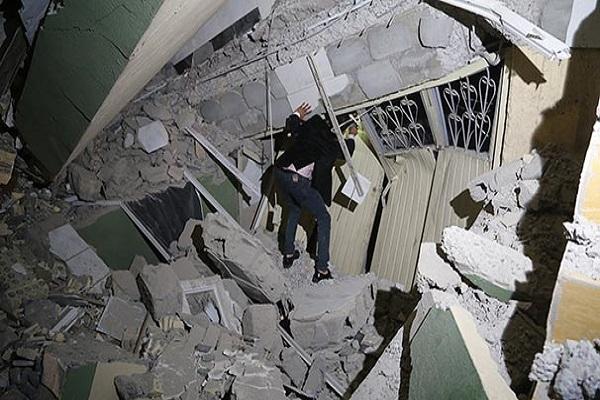 Irak'ta 7,3 şiddetinde deprem oldu ölü ve yaralı sayısı artıyor