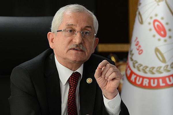 CHP'den YSK Başkanına sürpriz ziyaret