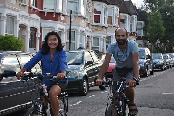 Evden İşe Edinburgh'a Bisiklet İle