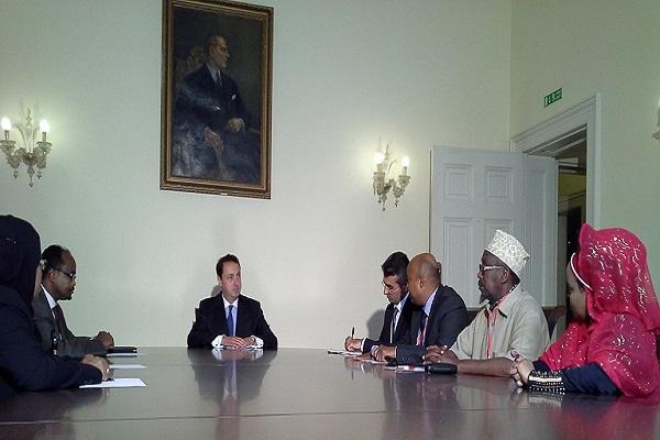 Somali Diasporasından Londra Türk Büyükelçiliğine Taziye