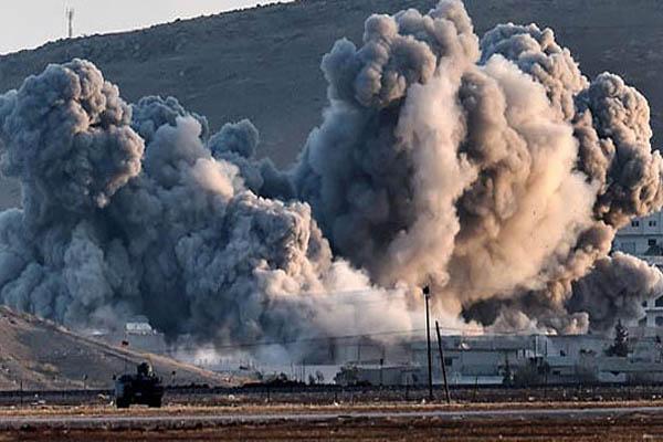 Kobani'de çatışmalar şiddetini arttırıyor