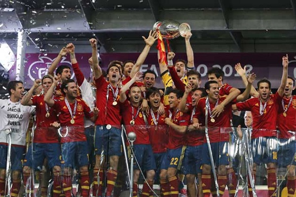 Spain defended their European Championship crown