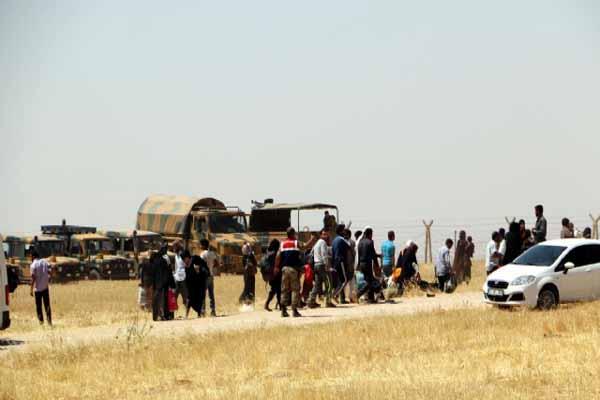 IŞİD, Türkmen köylerine saldırdı