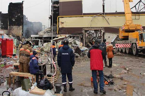 AVM yangınında 17 kişinin cesedine ulaşıldı