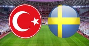 İsveç-Türkiye maçı canlı yayın...