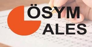 ÖSYM'den ALES'e girecek adaylara önemli uyarı