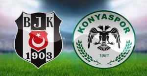 Atiker Konyaspor Beşiktaş maçı...