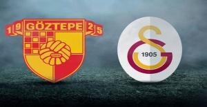 Göztepe Galatasaray maçı canlı...