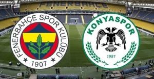 Fenerbahçe Atiker Konyaspor maçı canlı yayın bilgileri
